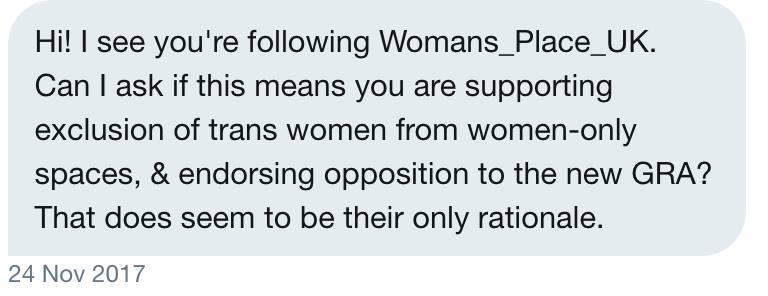"""Transativista tenta impedir discussão a respeito do """"A Woman's Place UK"""""""